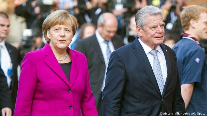 Выборы президента в германии 2018 канцлера дата когда
