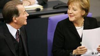 Regierungserklärung, Bundeskanzlerin Merkel