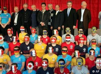 The World Cup gala creative team launch the plan in Berlin on Wednesday