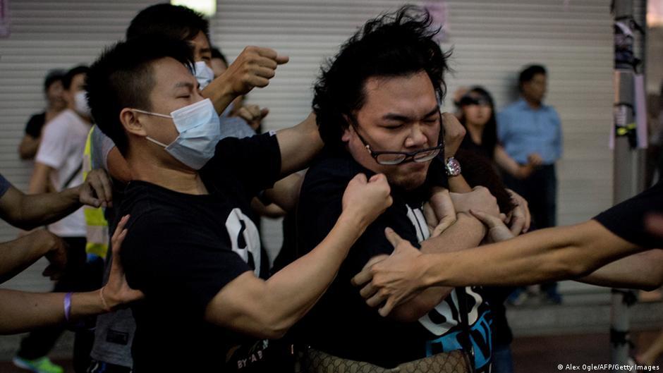 香港占中有台湾太阳花的影子   DW   04.10.2014
