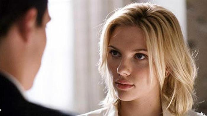 Scene from Woody Allen's Match Point, Scarlett Johansson appears on the right (dpa).