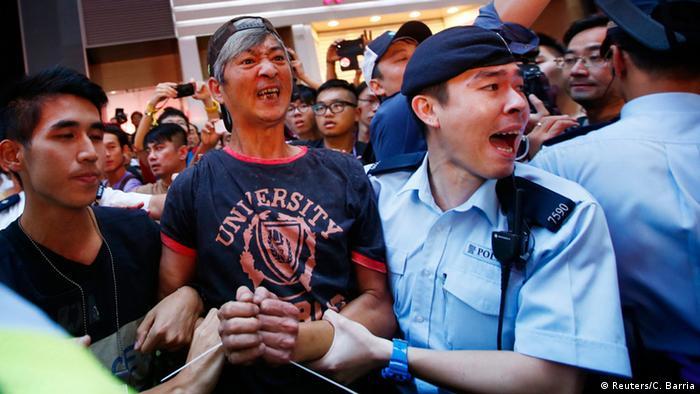 Proteste la Hong Kong