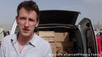 پتر کاسیگ، امدادگر آمریکایی و یکی از قربانیان گروه دولت اسلامی که گردن زده شد