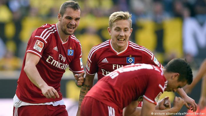 Bundesliga Dortmund vs Hamburg 04.10.2014