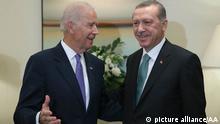 US-Vizepräsident Biden mit türkischem Präsidenten Erdogan 25.9.2014