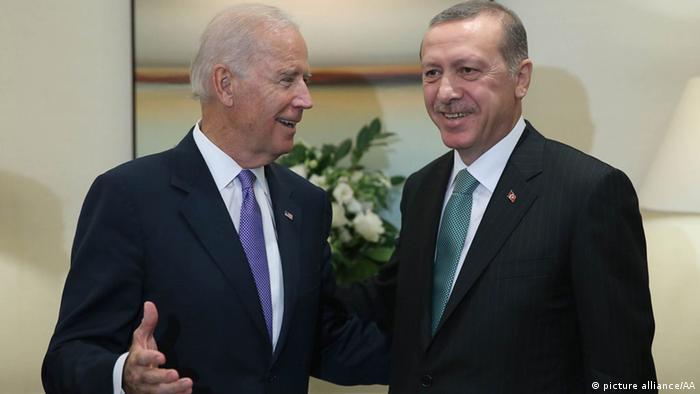 Dönemin Başbakanı Erdoğan, 2014 yılında New York ziyareti sırasında Başkan Yardımcısı Biden ile.