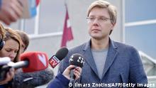 Lettland Pro-russische Partei Harmonie Nils Usakovs Wahlen 4.10.2014