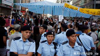 Proteste in Hongkong 05.10.2014