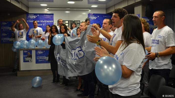 Bulgarien Parlamentswahlen 2014 5.10. Gerb-Partei