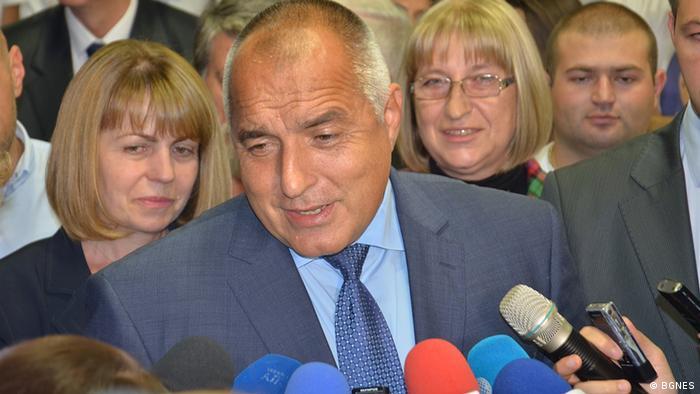 Bulgarien Parlamentswahlen 2014 5.10. Boyko Borissov