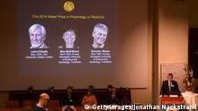 John O'Keefe May-Britt Moser Edvard I Moser Nobelpreis 2014 Medizin