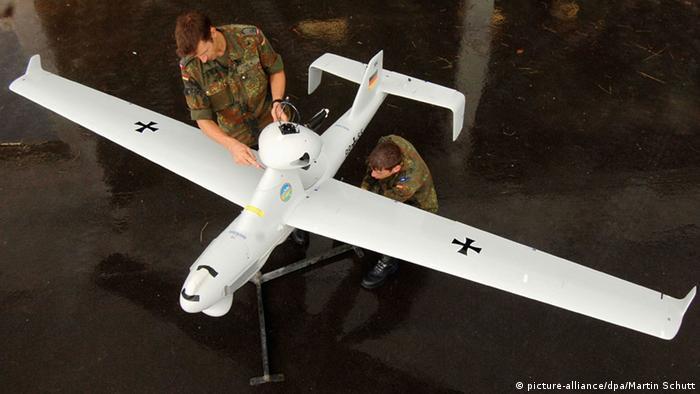 Bundeswehr-Drohne Luna