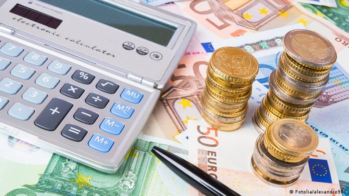 Taschenrechner Währung Euro