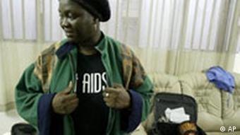 nigerianischer HI-Infizierter (Foto: AP Photo/George Osodi)