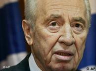 شیمون پرز رئیس جمهور اسرائیل گفت اسرائیل در قتل مصطفی احمدی روشن دخالتی نداشته است