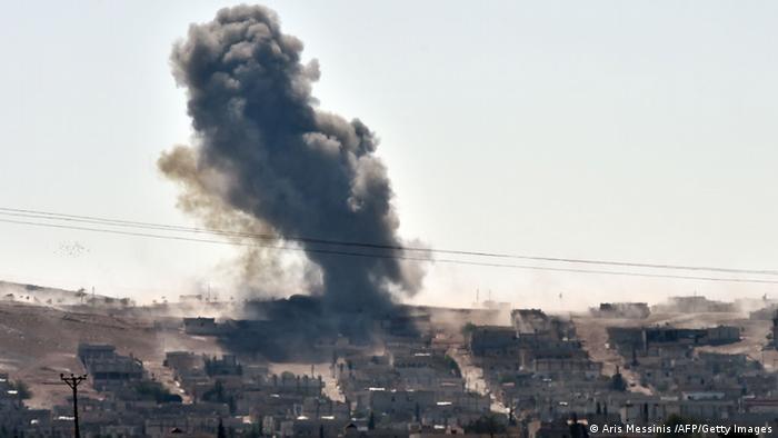 Syrien Kobane Kämpfe 06.10.2014