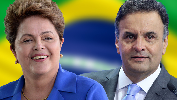 PictureTeaser Wahl Brasilien 2014, Rousseff, Neves