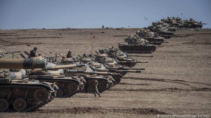 Türkische Panzer Kobane 06.10.2014