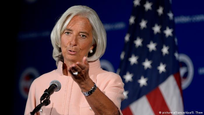 Christine Lagarde +++(c) dpa - Bildfunk+++