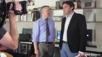 Christian Pricelius and Thomas Piketty