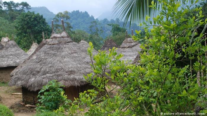 Siedlung des Indigena-Stammes in Kolumbien (picture-alliance/dpa/G. Ismar)
