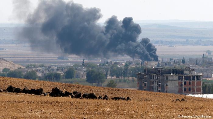 Kobane IS Kämpfe Syrien Kurden Flüchtlinge Terrorismus