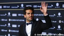 Schauspieler Elyas M'Barek beim Filmfestival in Zürich mit dem Film Männerhort