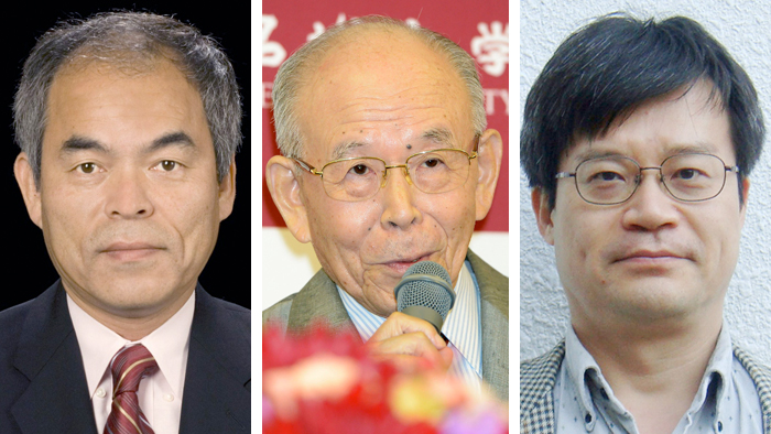Shuji Nakamura, Isamu Akasaki, Hiroshi Amano