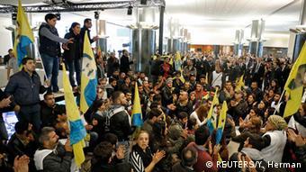Brüssel Kurden Demonstration Europäisches Parlament