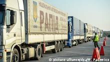 Deutscher Hilfskonvoi für Ostukraine