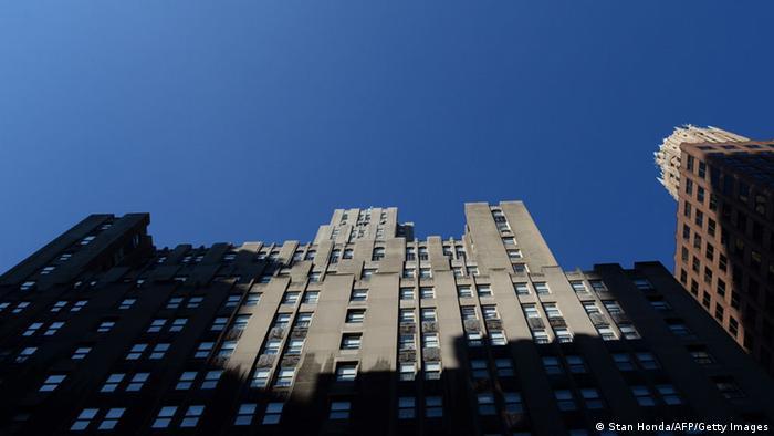 New York Fassade Hotel Waldorf Astoria