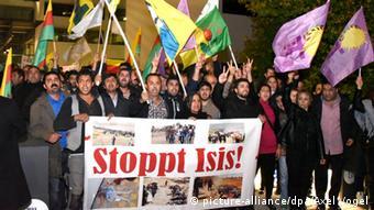 Kurds demonstrate in Bonn