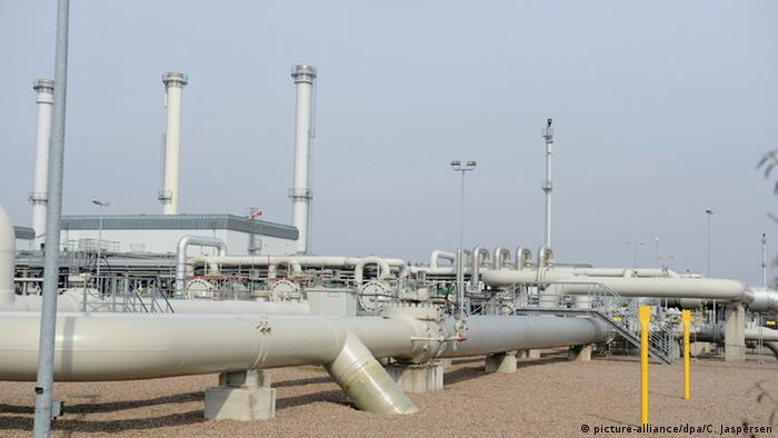 Gas storage facilities in Germany (Photo: Carmen Jaspersen/dpa)