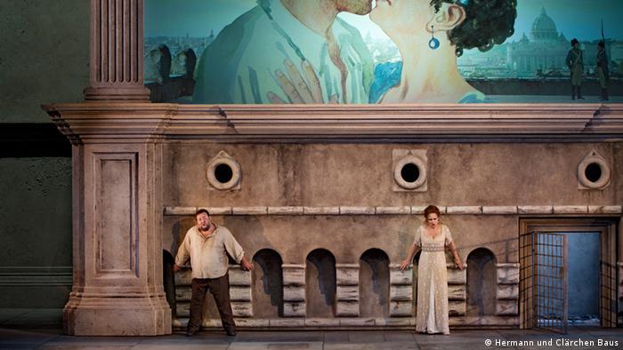 ''Тоска'' на сцене Государственной оперы в Берлине