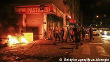 Türkei Ausschreitungen Proteste Kurden Istanbul Polizei