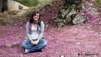 Die griechische Studentin Elena Apostolaki, die in Deutschland studiert (Foto: privat)