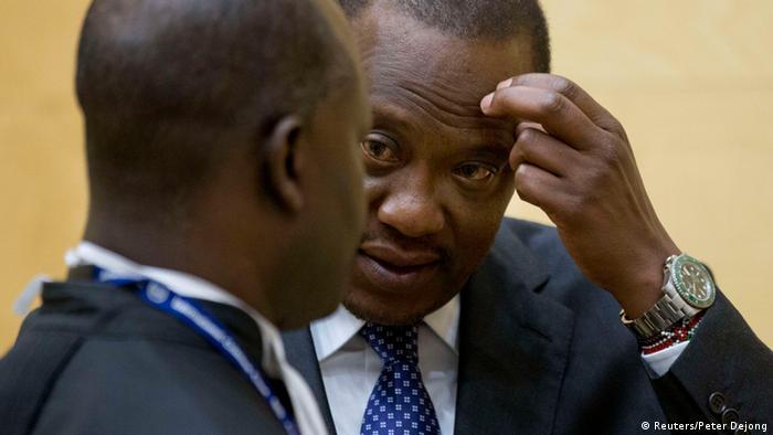 Kenya's President Uhuru Kenyatta (REUTERS/Peter Dejong/Pool)