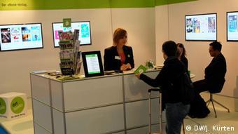 Frankfurter Buchmesse 2014 E-Book-Verlag (Foto: Jochen Kürten)