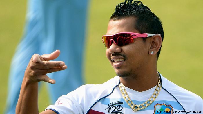 Westindische Inseln Cricket Sunil Narine