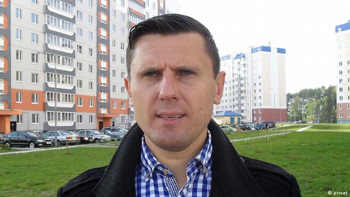 Der Journalist Alexander Burakov (Foto: Burakov)