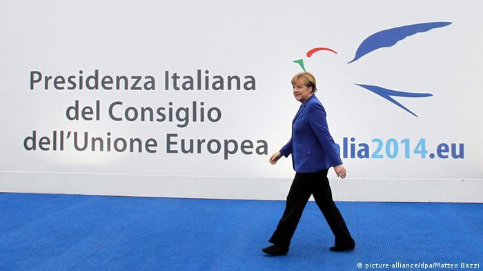 Italien EU Gipfeltreffen für Beschäftigung in Mailand - Angela Merkel