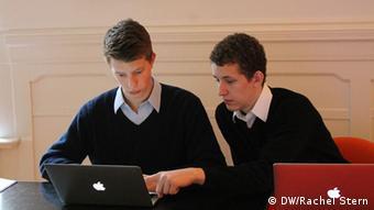 Brothers Maxim und Raphael Nitsche