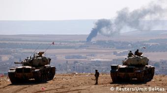 Syrien Kobane IS Terror Grenze Türkei 08.10.2014