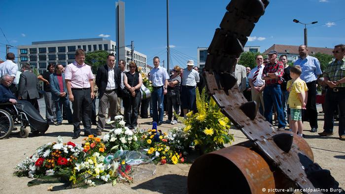 Памятник восстанию в Дрездене