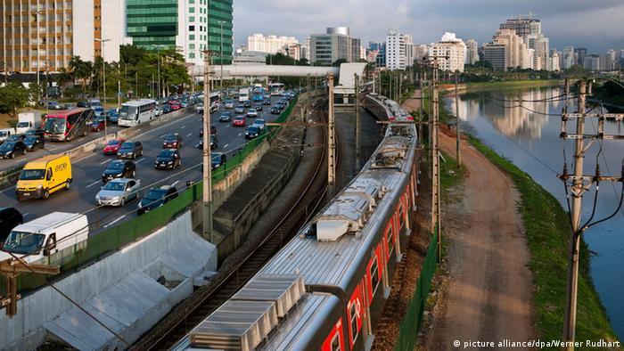 Sao Paulo Brasilien Infrastrukturprogramm Eisenbahn