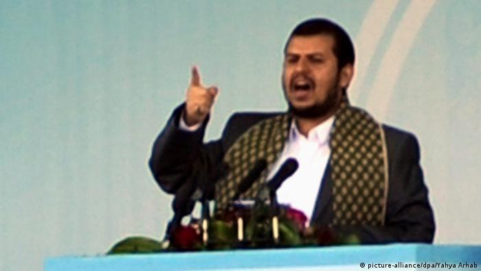 Jemen Rebellenführer Abdul-Malik al-Houthi 2013 KEINE BESSERE AUFLÖSUNG VERFÜGBAR (picture-alliance/dpa/Yahya Arhab)