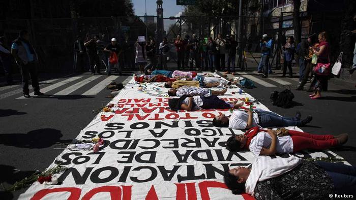 También en otros puntos del país, como en Ciudad de México, se registraron manifestaciones.