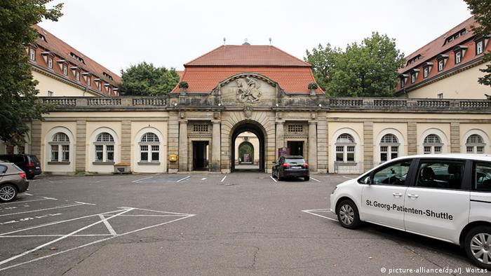Ebola-Patient aus Afrika in Leipzig eingetroffen