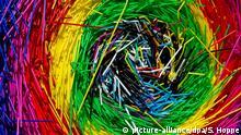 BdT Deutschland Kunstinstallation Ballenernte