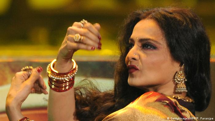 Rekha Bollywood Schauspielerin (GettyImages/AFP/P. Paranjpe)